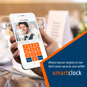 ¡XmartClock: control de horarios de personal!